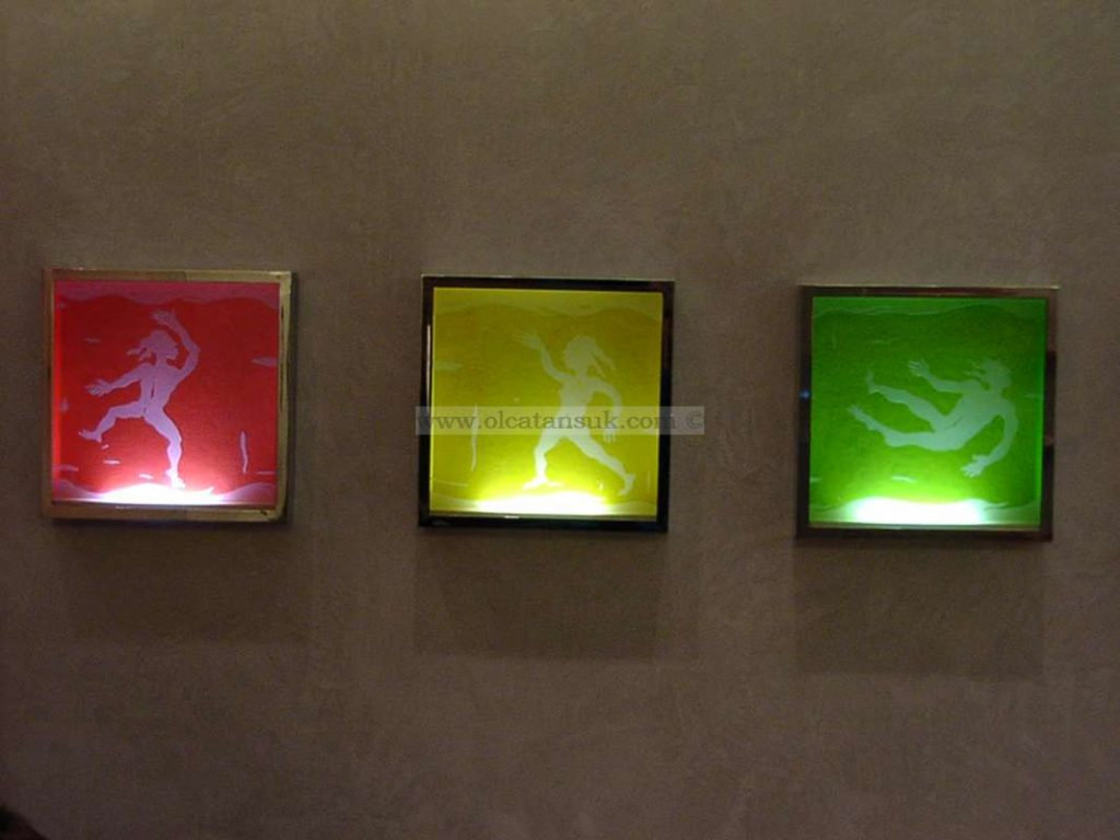 Light Panels, Dance in the rainbow 38x38cm - Alpha Clinic, (Germany) Münih, Almanya